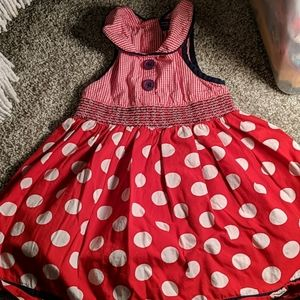 RWB sleeveless dress